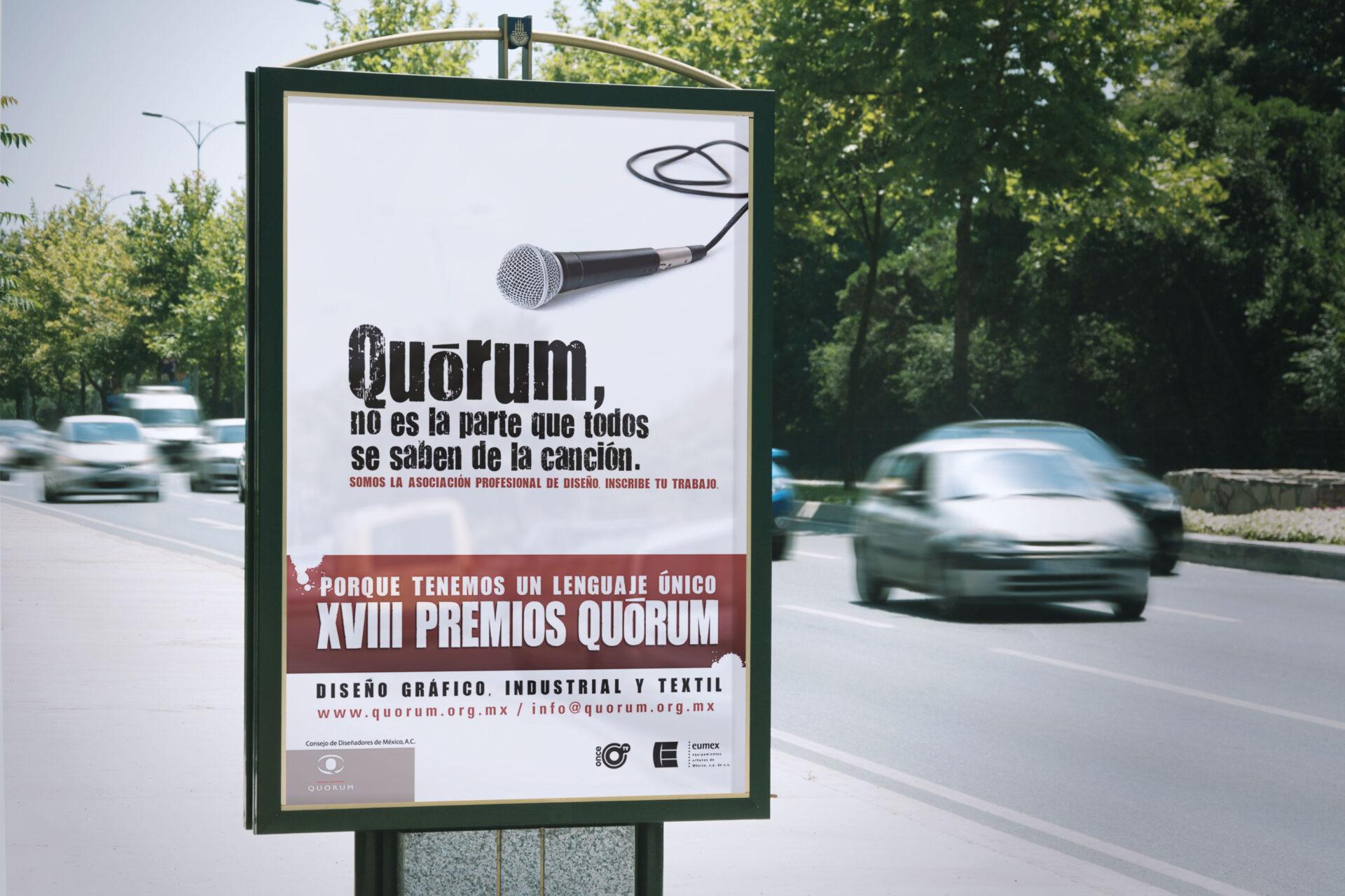 Premio Quórum XVIII